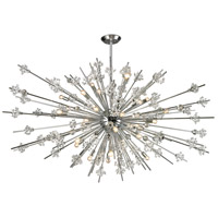 ELK 11754/31 Starburst 31 Light 72 inch Polished Chrome Chandelier Ceiling Light