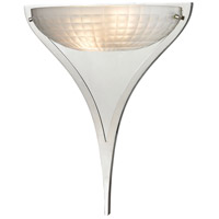 ELK Lighting Sculptive 2 Light Sconce in Polished Chrome with Frosted Glass 11760/2