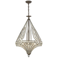 Jausten 5 Light 20 inch Antique Bronze Chandelier Ceiling Light