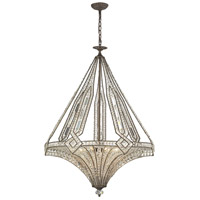 ELK Lighting Jausten 7 Light Chandelier in Antique Bronze 11784/7
