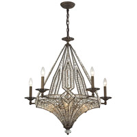 ELK Lighting Jausten 10 Light Chandelier in Antique Bronze 11785/5+5