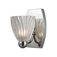 ELK Lighting Lindale 1 Light Vanity in Polished Chrome with Frosted Glass 11790/1