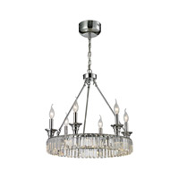 ELK 11805/12+6 Manning 18 Light 20 inch Polished Chrome Chandelier Ceiling Light
