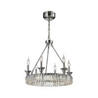 ELK 11805/12+6 Manning 18 Light 20 inch Polished Chrome Chandelier Ceiling Light