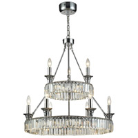 Manning 29 Light 28 inch Polished Chrome Chandelier Ceiling Light