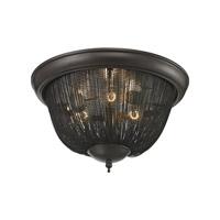 ELK Lighting Pesaro 3 Light Flushmount in Oil Rubbed Bronze 11825/3