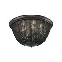 ELK Lighting Pesaro 4 Light Flushmount in Oil Rubbed Bronze 11826/4