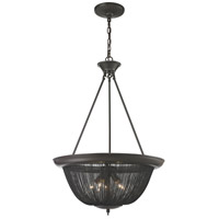 ELK 11827/5 Pesaro 5 Light 21 inch Oil Rubbed Bronze Pendant Ceiling Light