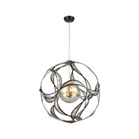 Oriona 3 Light 27 inch Oil Rubbed Bronze Chandelier Ceiling Light
