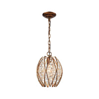 Kumbaya 1 Light 9 inch Spanish Bronze Pendant Ceiling Light