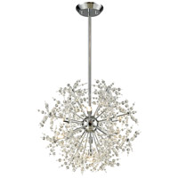 Elk Lighting Snowburst 7 Light Chandelier in Polished Chrome 11893/7