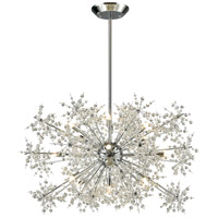 Snowburst 15 Light 33 inch Polished Chrome Chandelier Ceiling Light