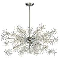 Elk Lighting Snowburst 20 Light Chandelier in Polished Chrome 11896/20