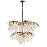 ELK 11902/12+6 Elia 18 Light 30 inch Spanish Bronze Chandelier Ceiling Light