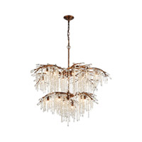 Elia 18 Light 41 inch Spanish Bronze Chandelier Ceiling Light