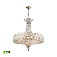 Cumbria LED 25 inch Aged Silver Chandelier Ceiling Light