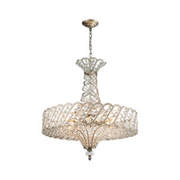 Elk Lighting Cumbria 8 Light Chandelier in Aged Silver 11925/8