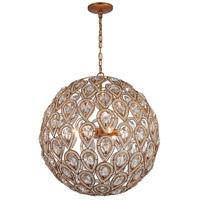 ELK 11936/8 Evolve 8 Light 21 inch Matte Gold Chandelier Ceiling Light in Incandescent