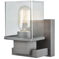 ELK 11940/1 Hotelier 1 Light 5 inch Weathered Zinc Vanity Light Wall Light