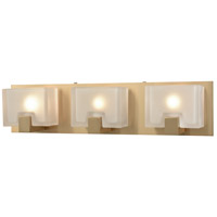 ELK 11972/3 Ridgecrest 3 Light 21 inch Satin Black Vanity Light Wall Light