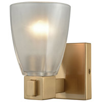 ELK 11990/1 Ensley 1 Light 7 inch Satin Brass Vanity Light Wall Light
