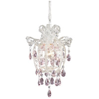 ELK Lighting Elise 1 Light Pendant in Antique White 12008/1