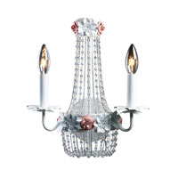 ELK Lighting Isabella 2 Light Sconce in Antique White 12014/2
