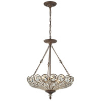 ELK 12024/5 Christina 5 Light 20 inch Mocha Pendant Ceiling Light