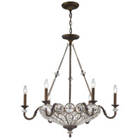 Elk Lighting Christina 9 Light Chandelier in Mocha 12033/6+3