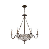 Christina 9 Light 30 inch Mocha Chandelier Ceiling Light