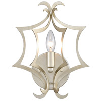 Delray 1 Light 10 inch Aged Silver Wall Sconce Wall Light