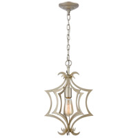 Delray 1 Light 11 inch Aged Silver Pendant Ceiling Light