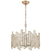 ELK 12134/5 Equilibrium 5 Light 19 inch Matte Gold with Polished Nickel Pendant Ceiling Light alternative photo thumbnail