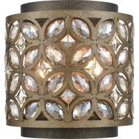 ELK 12150/2 Rosslyn 2 Light 8 inch Mocha with Deep Bronze Wall Sconce Wall Light