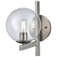 ELK 12180/1 Globes of Light 1 Light 7 inch Brushed Black Nickel Sconce Wall Light