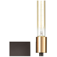 ELK 12200/2 Congruency 2 Light 9 inch Oil Rubbed Bronze with Satin Brass ADA Sconce Wall Light alternative photo thumbnail