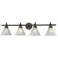 Pemberton 4 Light 36 inch Oil Rubbed Bronze Vanity Wall Light