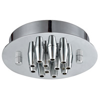 ELK 12SR-CHR Pendant Options Chrome Canopy, Small Round