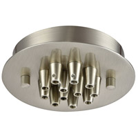Elk Lighting Pendant Options 12 Light Canopy in Satin Nickel 12SR-SN