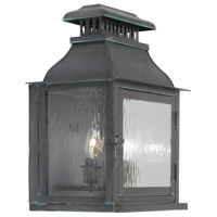 ELK Lighting Williams Towne 2 Light Outdoor Sconce in Verde Patina 1300-OB