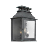 ELK Lighting Williams Towne 3 Light Outdoor Sconce in Verde Patina 1301-OB
