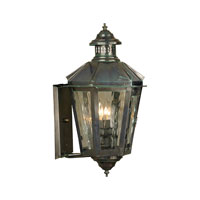 Kensington 2 Light 21 inch Verde Patina Outdoor Wall Sconce