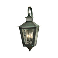 ELK Lighting Barrington 3 Light Outdoor Wall Sconce in Verde Patina 1341-OB photo thumbnail