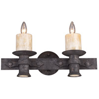 ELK Lighting Cambridge 2 + 2 Light Vanity in Moonlit Rust 14001/2+2