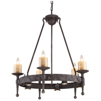 ELK Lighting Cambridge 10 Light Chandelier in Moonlit Rust 14005/5+5