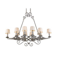 ELK Lighting Legacy 10 Light Chandelier in Rustic Silver 14016/10 photo thumbnail