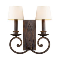 ELK Lighting Legacy 2 Light Sconce in Dark Umber 14020/2