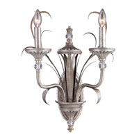 ELK Lighting Oasis 2 Light Sconce in Antique Silver 14033/2