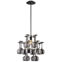 ELK Lighting Vintage 1 Light Chandelier in Dark Rust 14040/1