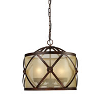 ELK Lighting Cumberland 3 Light Chandelier in Classic Bronze 14051/3